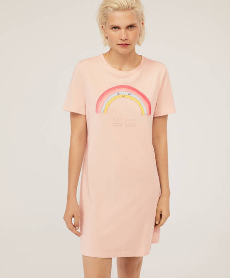 Rainbow nightdress