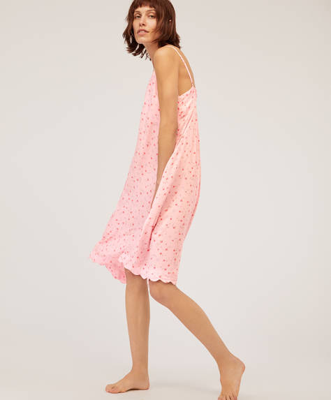 Mini cretonne nightdress