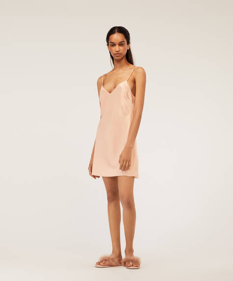 Sateen nightdress