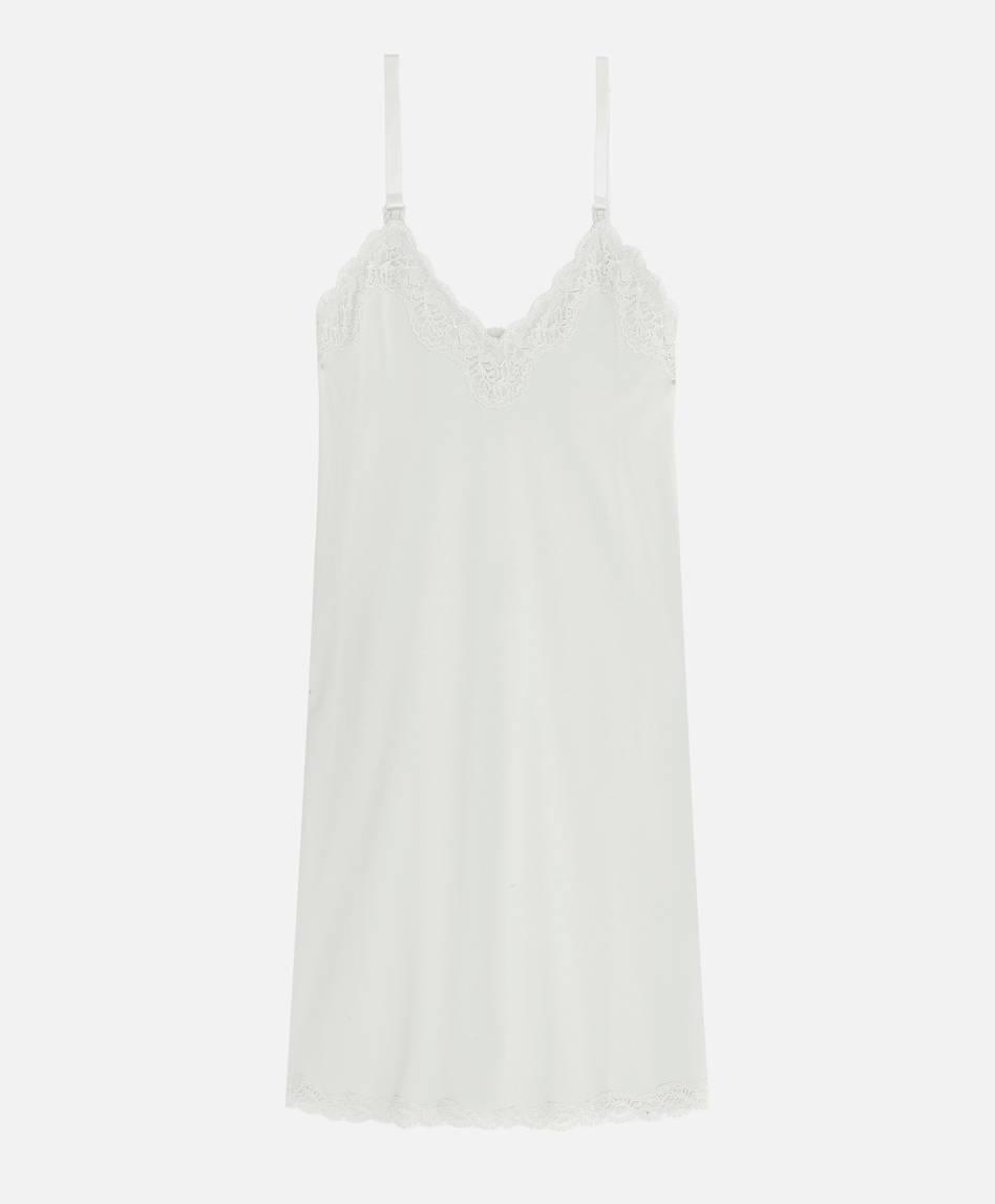 41c39bc59 Camisa de noite de maternidade em algodão
