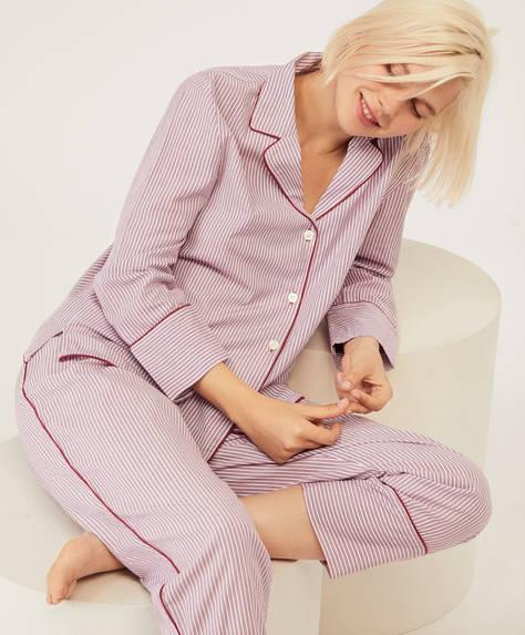 Klassische Hose aus Baumwolle