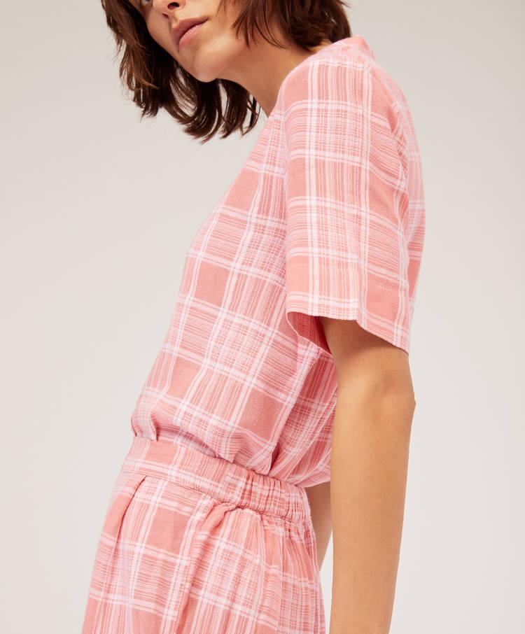 Παντελόνι ροζ καρό - Σεμιζιέ - Πιτζάμες - Πιτζάμες και homewear ... af5d5ceb75f