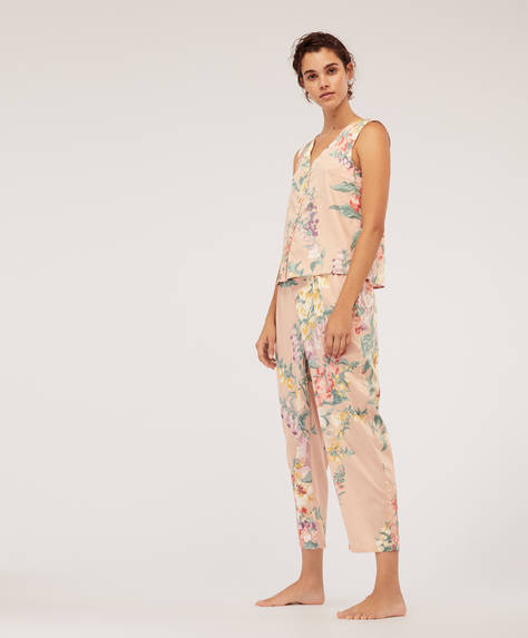 Campanilla flower trousers