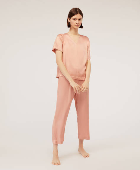 Pink ions trousers
