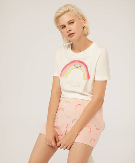 Pantalón corto rainbow