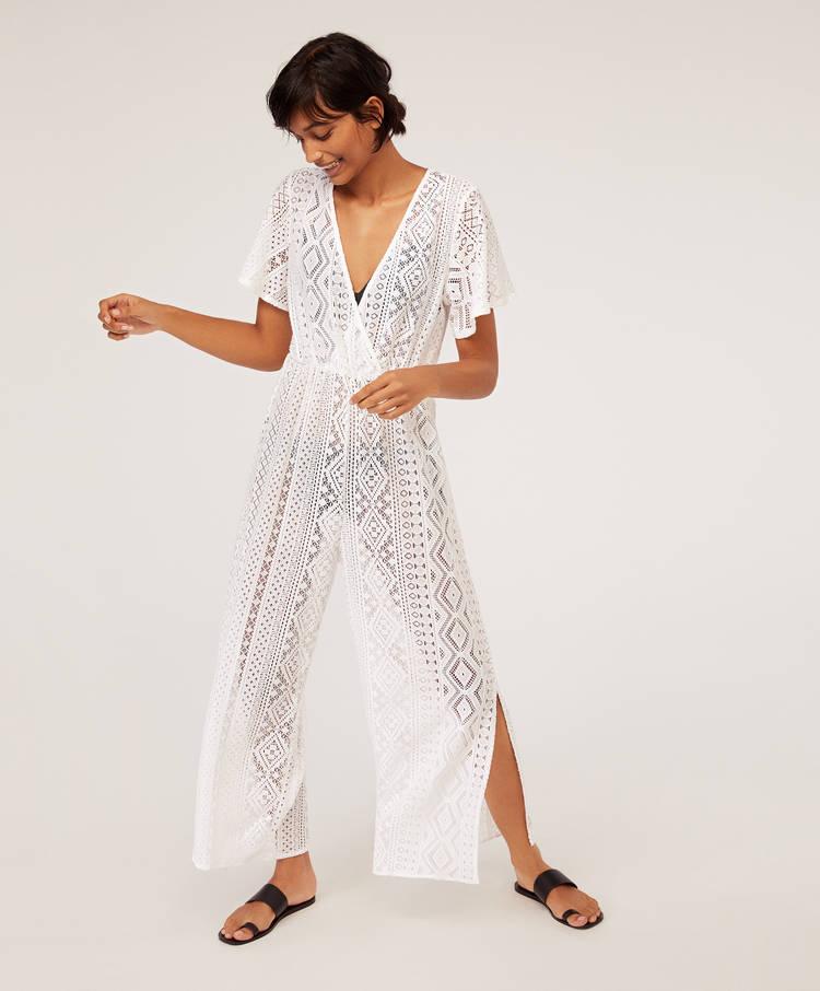 7673a202a3f4 Geometric crochet jumpsuit - Swimwear and beachwear - Join Life ...