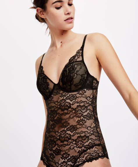 Bodi bàsic Essential Lace
