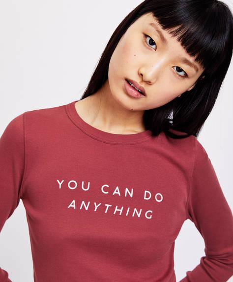 Slogan shirt