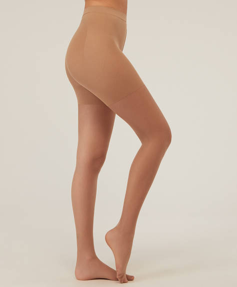 Natural push-up tights