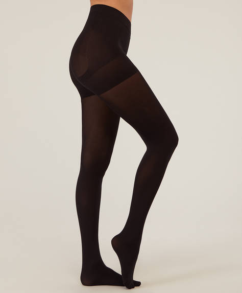 90 DEN push-up tights