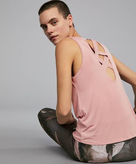 Maglietta in modal rosa