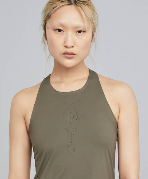 Ideal fit khaki top