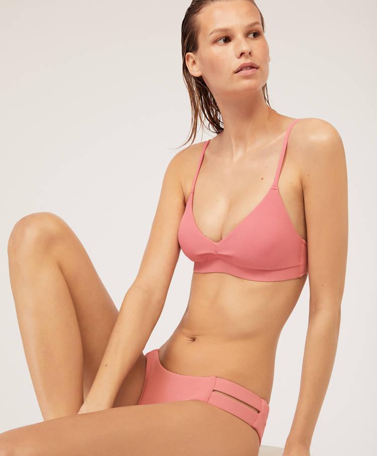 Liso Top Bikini Top Bikini Triangular Liso Top Triangular c43L5ARjq