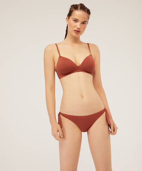 Braguita bikini clásica lazos