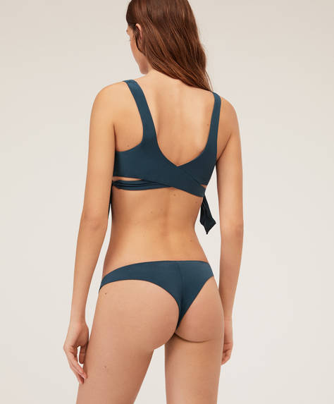 Wrap Brazilian bikini briefs