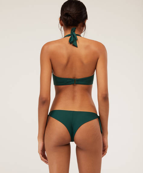 Brazilian-Bikinislip mit Schleifen