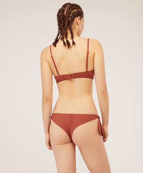 Brazilian tie detail bikini briefs
