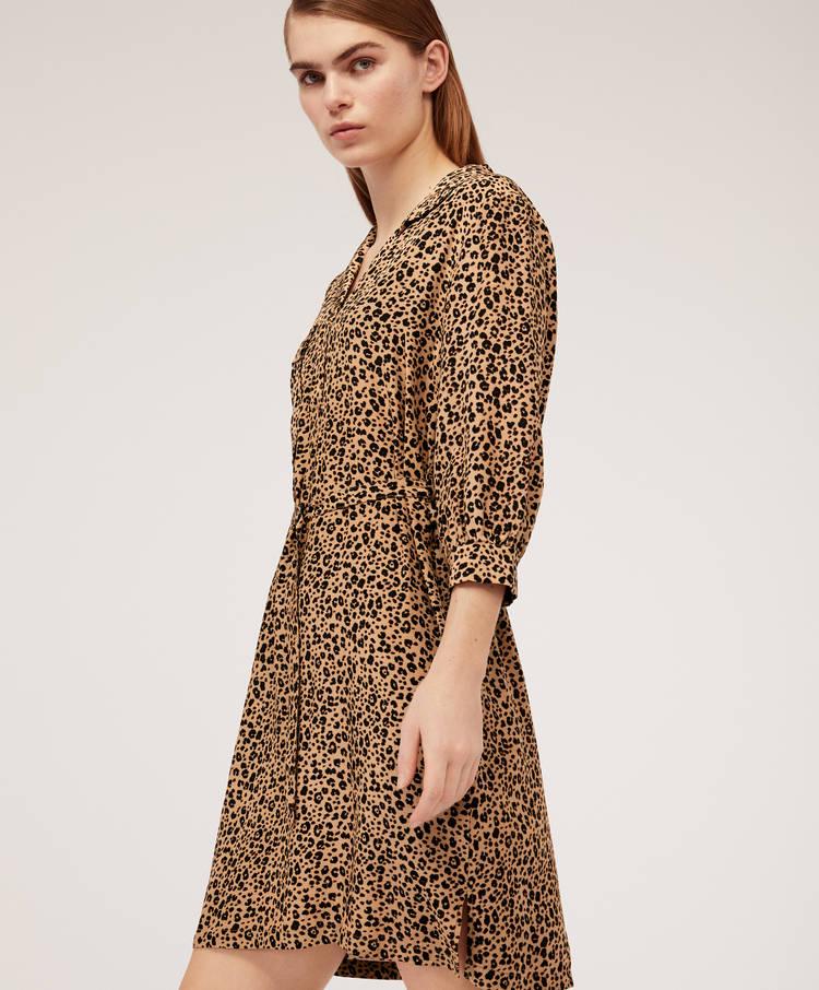 64599a00fbcd Short leopard print dress - Best Sellers - New In   Oysho Tunisie