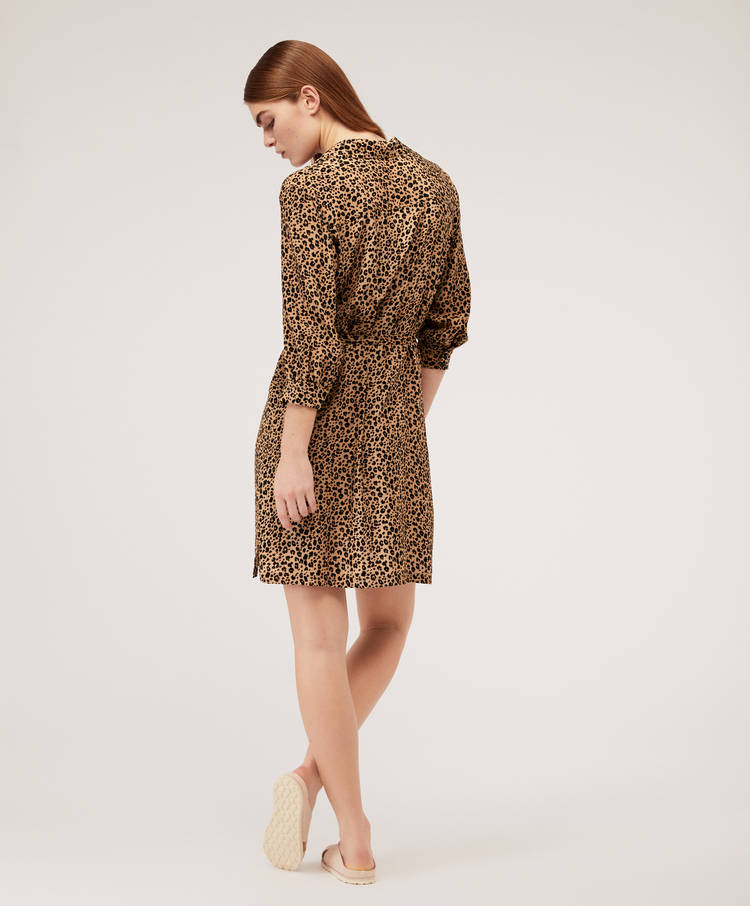 e2047dd6374e Short leopard print dress - Dresses and skirts - Swimwear and ...