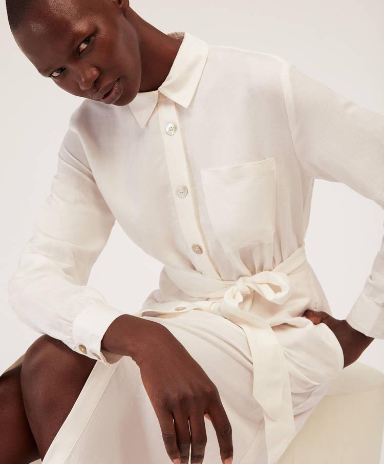 d118fa3331 Linen shirt dress - Dresses and skirts - Swimwear and beachwear ...