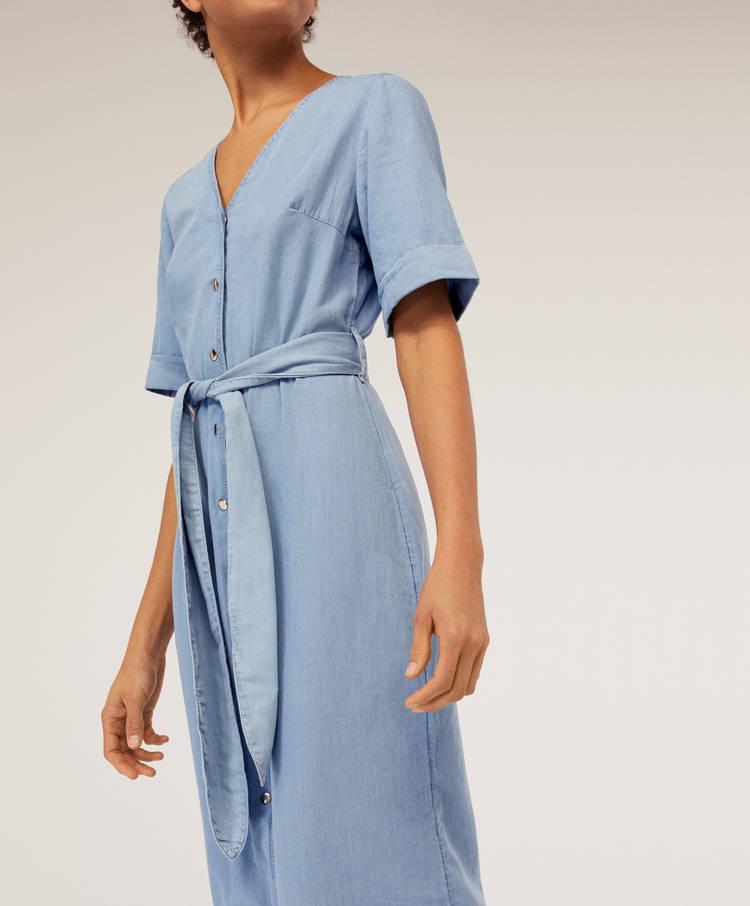 8bdce441fe97 Φόρεμα-πουκαμίσα ντένιμ - Beachwear - Μαγιό και beachwear