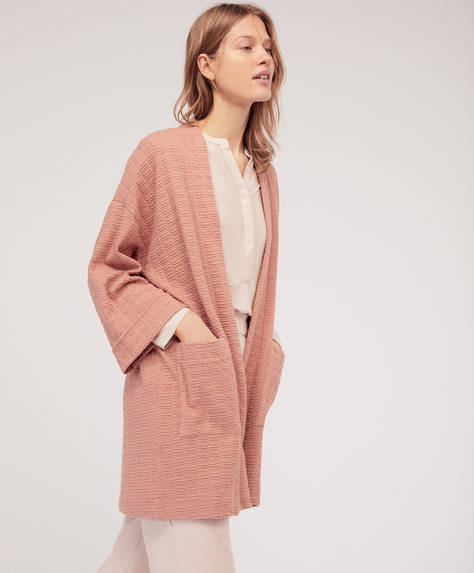 Structured bath robe