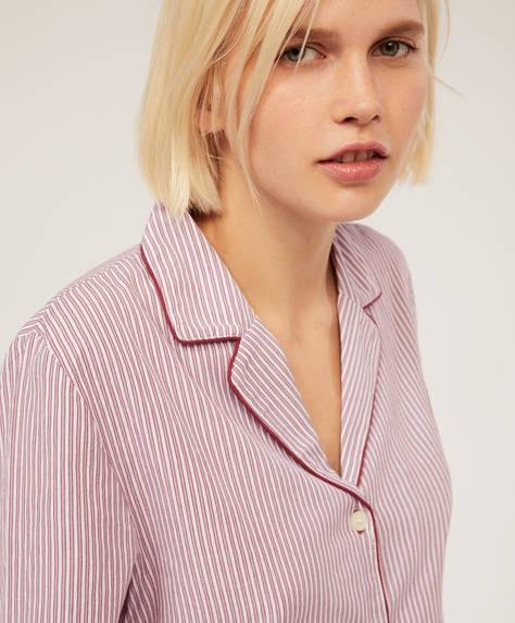 Классическая рубашка из хлопка