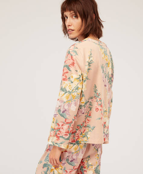 Campanilla flower shirt