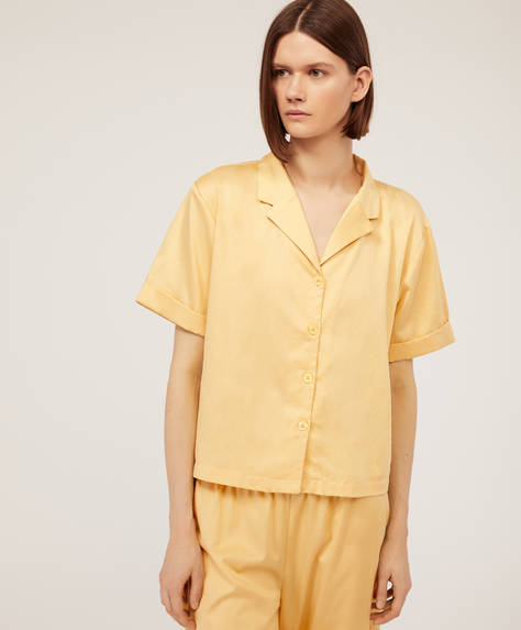 Plain yellow shirt
