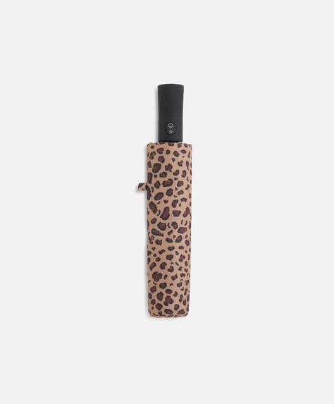 Animal print umbrella