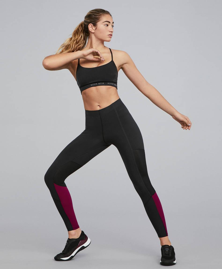 d0a94bbb7e0d7 Leggings - Cross Fitness - By Sport - OYSHO SPORT | OYSHO Portugal