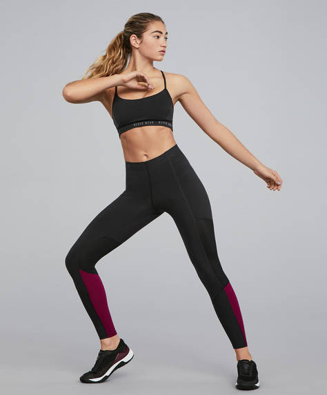 Leggings modelatori cross fitness