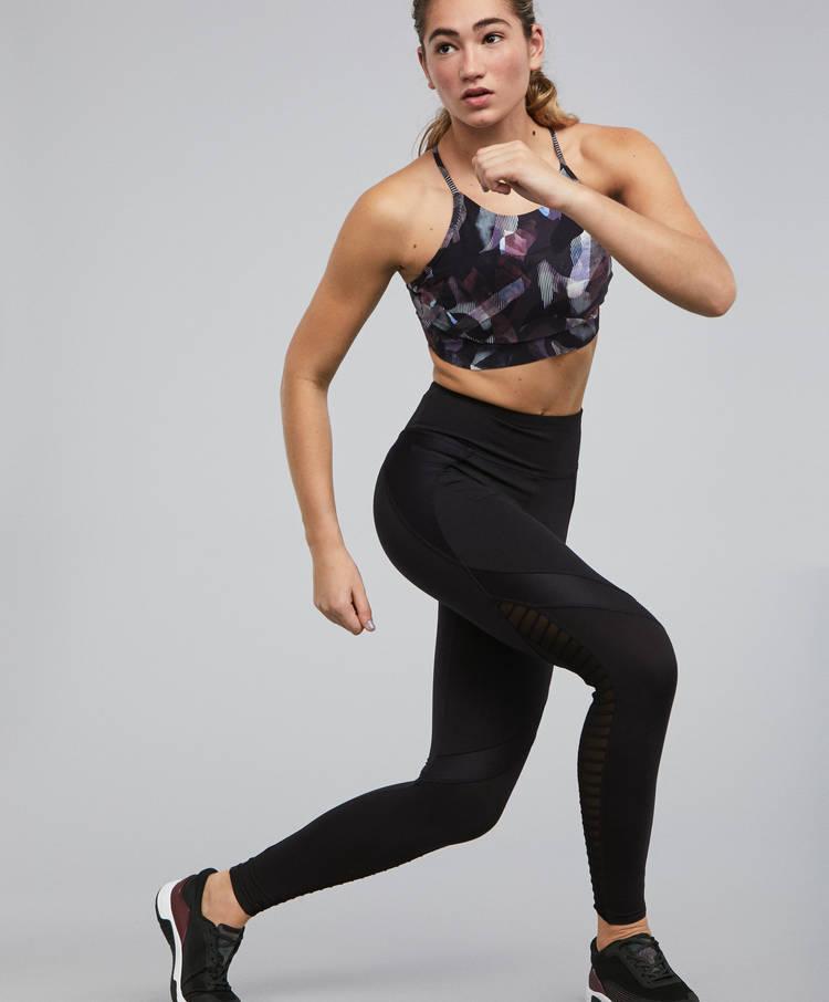 a8f3e7fbb8d88 Panel biker leggings - Leggings - Gym - Training - By Sport - OYSHO ...