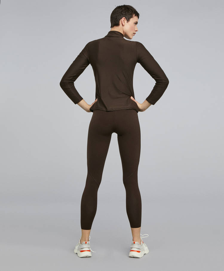 e4d8e20396885 Brown shapewear leggings - Trousers and leggings - Trekking - By ...