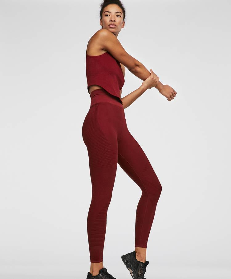 6e84ea3797668 Seamless leggings - Plain - Leggings - By Products - OYSHO SPORT ...