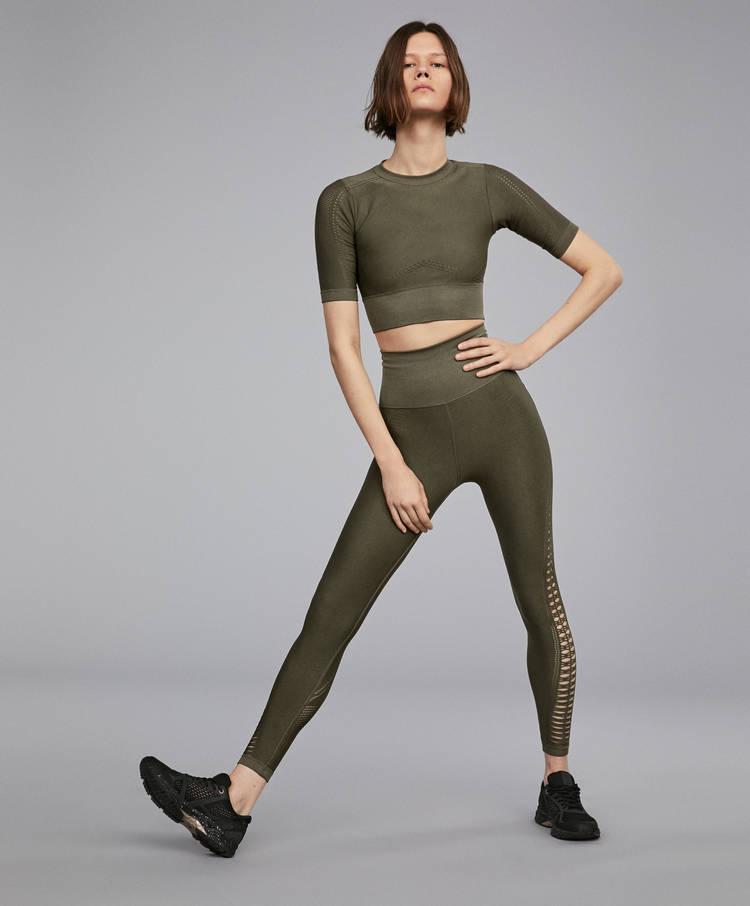 neue bilder von überlegene Leistung klar und unverwechselbar Loose-knit seamless leggings