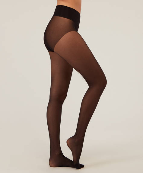 30 denier seamless tights