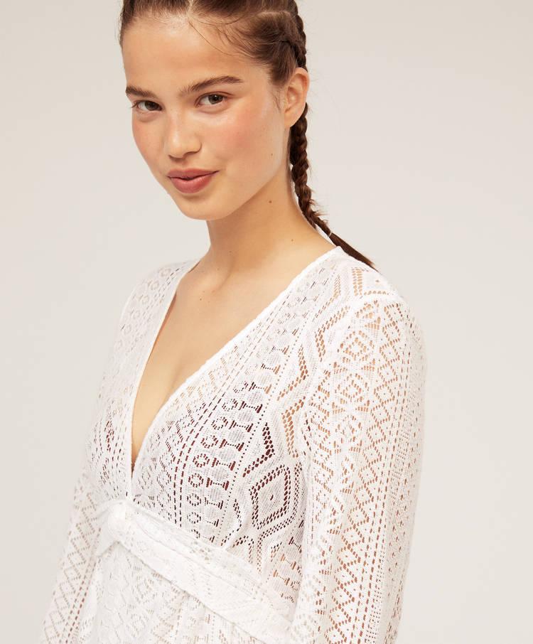 26ce3f5fd85b Short crochet jumpsuit - Jumpsuits - Swimwear and beachwear