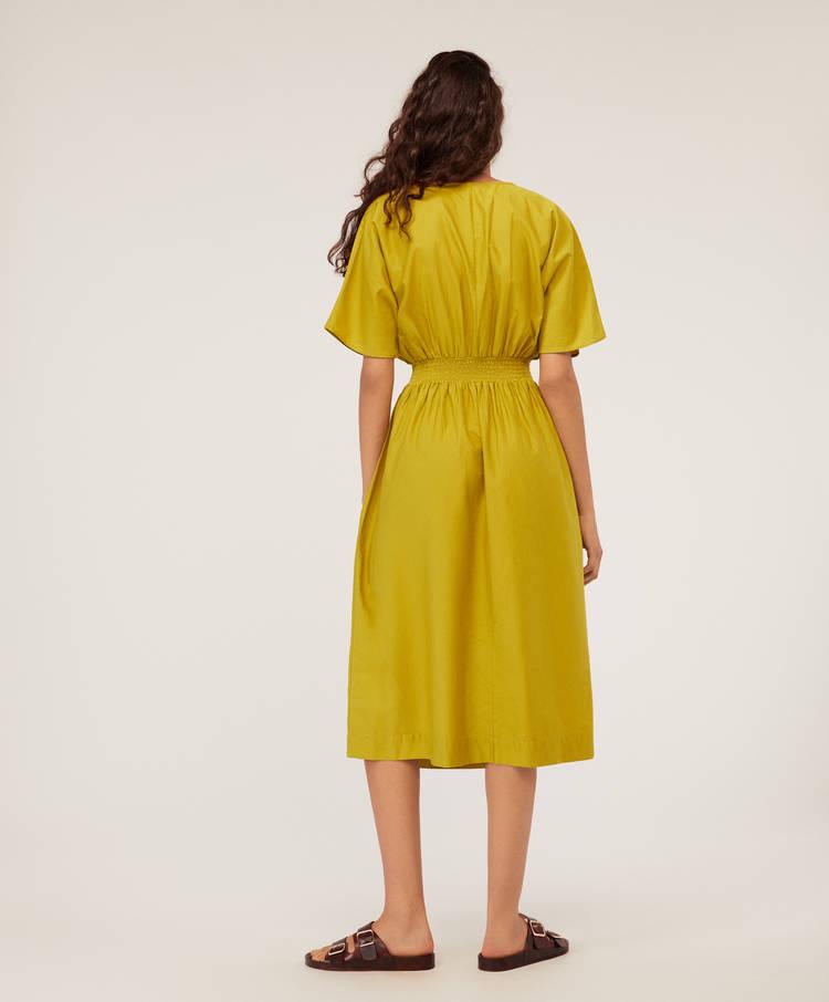 5cd64cefdd5b Βαμβακερό μίντι φόρεμα - Φορέματα - Φορέματα και φούστες - Μαγιό και ...