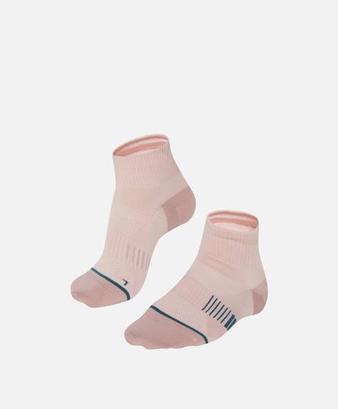 Calzini tecnici rosa in Tactel®