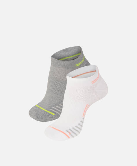 Pack of two pairs of Tactel® sports socks