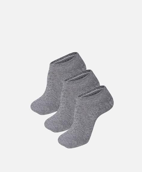3 footies técnicos algodón