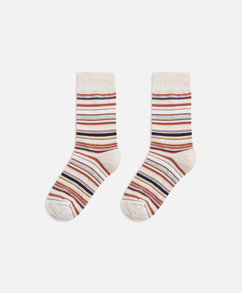 Chaussettes rayures multiples