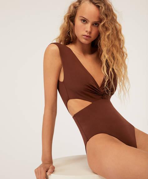 Draped trikini