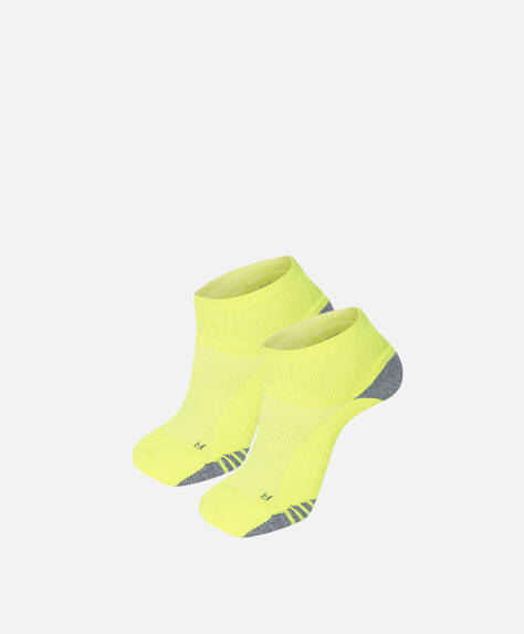 2 pairs of fluorescent socks