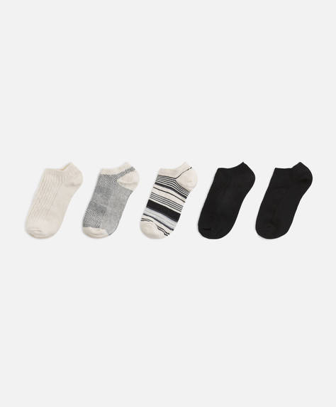 5 pairs of ankle socks