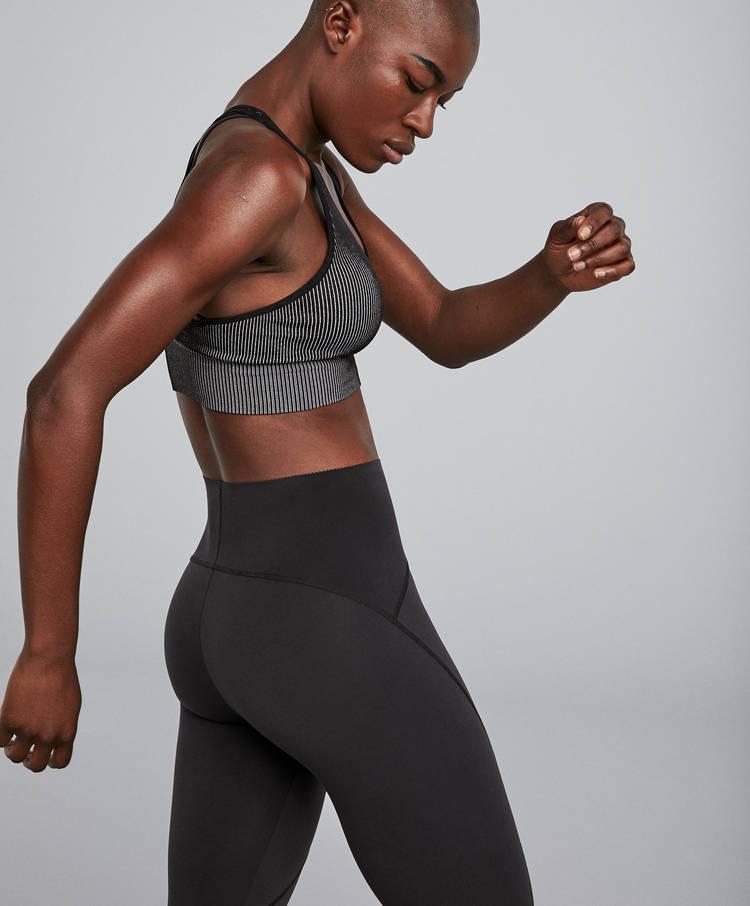 2043ba137 Seamless ribbed bra - Sport bras - Yoga - Pilates - By Sport - OYSHO ...
