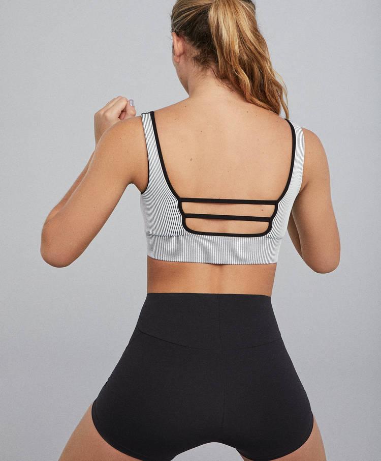 b8dc94ac7 Ribbed seamless sports bra - Sport bras - Yoga and Pilates - By ...