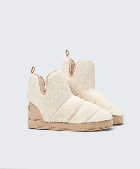 Furry boot