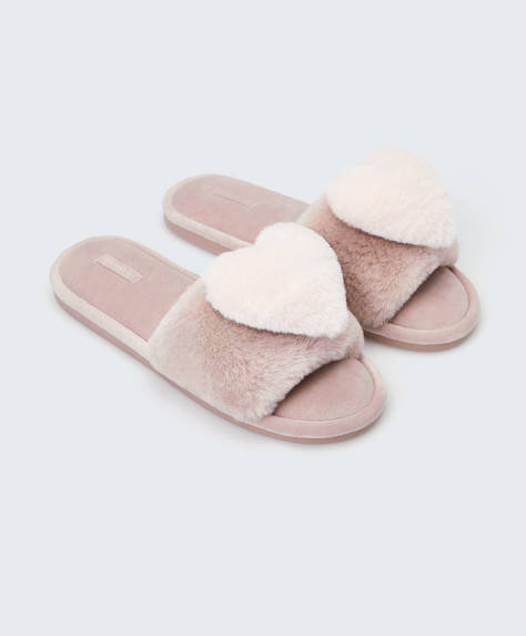 Fluffy heart slides